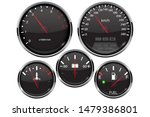 car dashboard 3d gauges.... | Shutterstock . vector #1479386801
