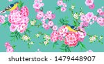 spring seamless pattern with... | Shutterstock .eps vector #1479448907