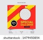 sale offer web banner template... | Shutterstock .eps vector #1479450854