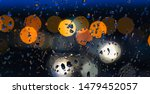 blurred background of the night ... | Shutterstock . vector #1479452057