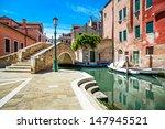 Venice Cityscape  Narrow Water...