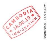 cambodia international travel... | Shutterstock .eps vector #1479518894