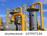 oil and gas processing plant | Shutterstock . vector #147957134