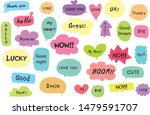 cute vector set of hand drawn... | Shutterstock .eps vector #1479591707