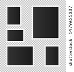 set of vintage photo frame.... | Shutterstock .eps vector #1479625337