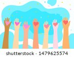 concept of charity and donation.... | Shutterstock .eps vector #1479625574