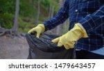 volunteer help garbage...   Shutterstock . vector #1479643457