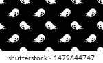 ghost seamless pattern vector... | Shutterstock .eps vector #1479644747