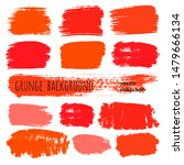paint stains grunge collection. ... | Shutterstock .eps vector #1479666134