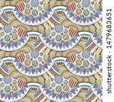 hand drawn seamless grunge... | Shutterstock .eps vector #1479683651