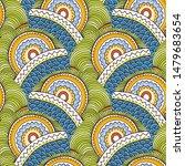 hand drawn seamless grunge... | Shutterstock .eps vector #1479683654