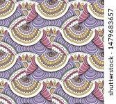 hand drawn seamless grunge... | Shutterstock .eps vector #1479683657