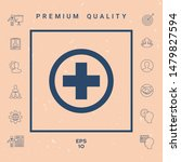 medical cross icon. graphic... | Shutterstock .eps vector #1479827594