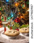 A Festive Plate Of Mince Pies...