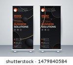 business roll up. standee... | Shutterstock .eps vector #1479840584