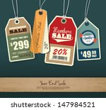 set of price tag design | Shutterstock .eps vector #147984521