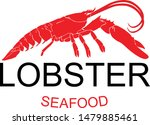 lobster silhouette icon on...   Shutterstock .eps vector #1479885461