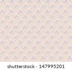 floral seamless pattern | Shutterstock .eps vector #147995201