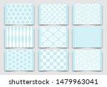 japanese traditional blue... | Shutterstock .eps vector #1479963041