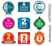 vector 2 years warranty ...   Shutterstock .eps vector #1479995231