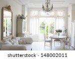 interior of rustic home | Shutterstock . vector #148002011