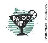 daiquiri grunge style banner... | Shutterstock .eps vector #1480032047