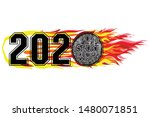 sports logo design 2020....   Shutterstock .eps vector #1480071851
