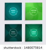 geometric plate music album... | Shutterstock .eps vector #1480075814
