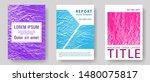 catalog cover vector templates. ...   Shutterstock .eps vector #1480075817