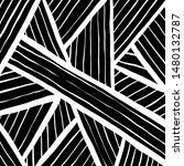 grunge brush pattern. texture.... | Shutterstock .eps vector #1480132787