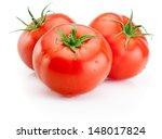 Three Juicy Wet Tomatoes...