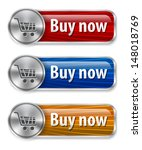 metallic and glossy web... | Shutterstock .eps vector #148018769