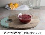 Chia Seed Jam In Ramekin