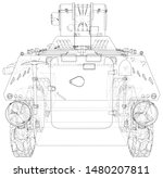 military machine. eps10 format. ...   Shutterstock .eps vector #1480207811