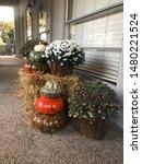 Fresh Fall Front Entrance Decor