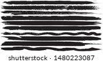 grunge vector brush. abstract... | Shutterstock .eps vector #1480223087