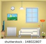 living room | Shutterstock .eps vector #148022807