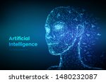 ai. artificial intelligence...   Shutterstock .eps vector #1480232087