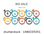big sale  infographic design...