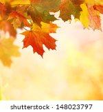 autumn background  | Shutterstock . vector #148023797