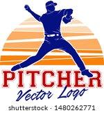 Baseball Pitcher Player...