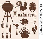 grill,barbecue-grill,braun,huhn,schwanz,design-element,nutztiere,feuer,flamme,lebensmittel,gabel,grill,gegrillt,isoliert,küchengeschirr