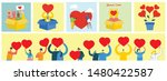 share your love. people with... | Shutterstock .eps vector #1480422587