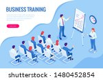 isometric business training... | Shutterstock .eps vector #1480452854