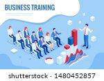 isometric business training... | Shutterstock .eps vector #1480452857