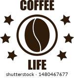 design logo for coffee. coffee... | Shutterstock .eps vector #1480467677