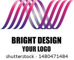 simple design logo. colorful... | Shutterstock .eps vector #1480471484