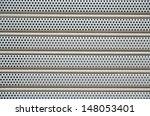 aluminum perforated.