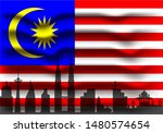 vector illustration of malaysia ... | Shutterstock .eps vector #1480574654