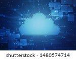 2d rendering cloud computing ... | Shutterstock . vector #1480574714
